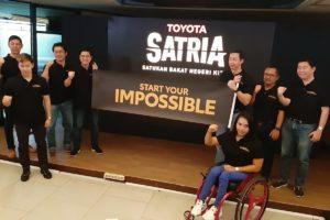 """Toyota Jaring Atlet Muda dengan Program """"Satria"""""""